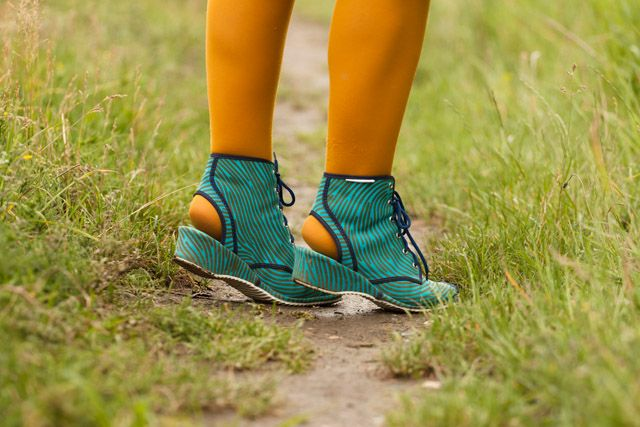 Quirky shoes #teal
