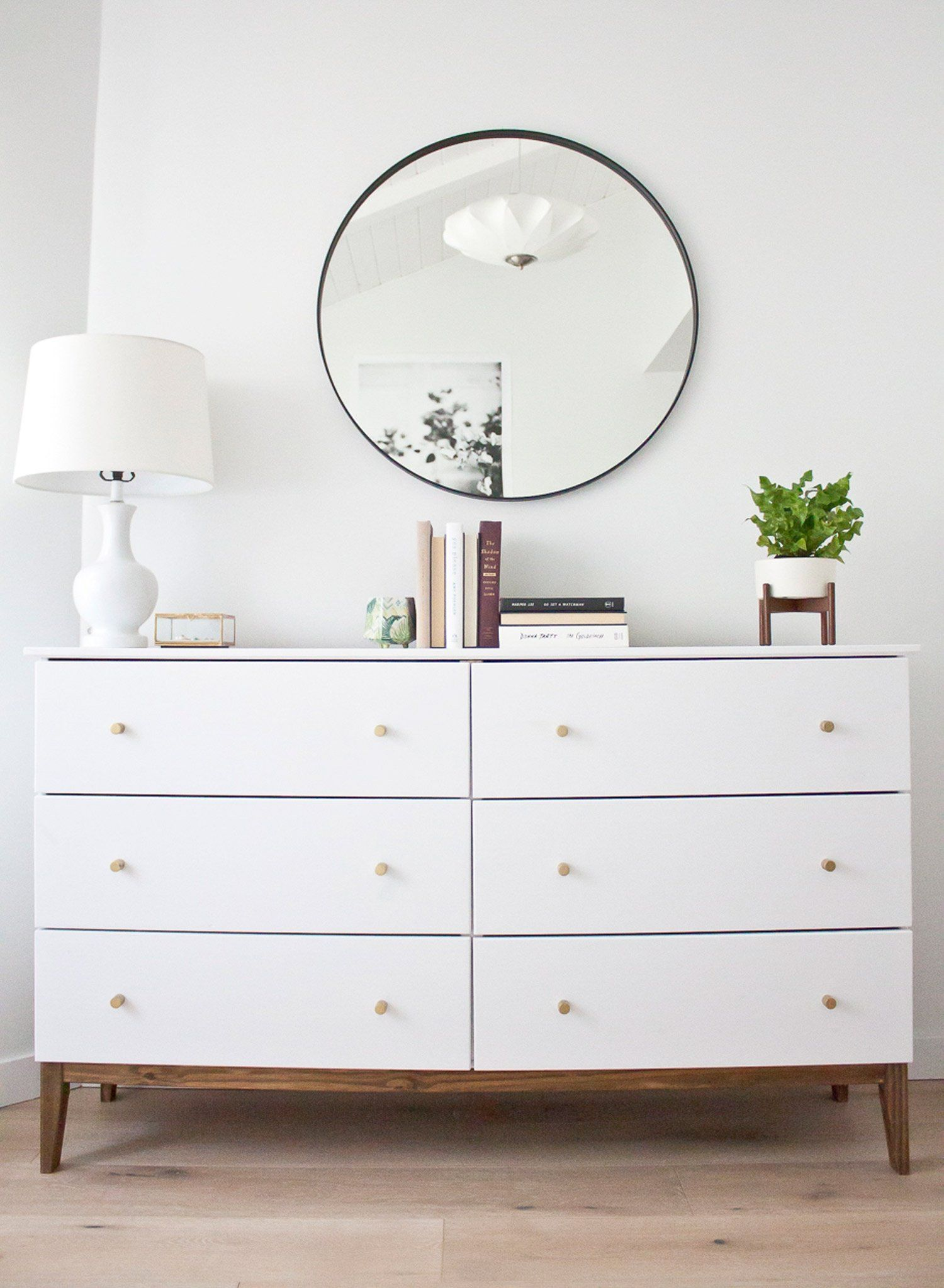Moderne Kommode How To Make An Ikea Dresser Look Like A Midcentury Splurge 1203