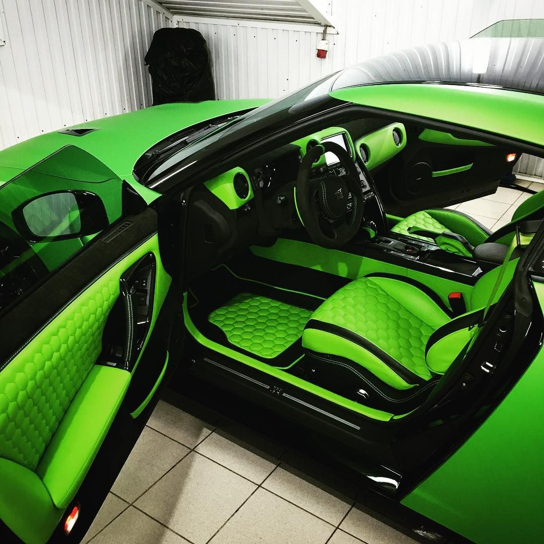 nissan gt r custom interior lime green and black hexagon stitch pattern amazing imaginative. Black Bedroom Furniture Sets. Home Design Ideas