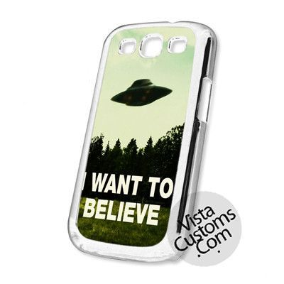 I Want To Believe The X Files Movie Cell Phones Cases For iPhone, Samsung Galaxy