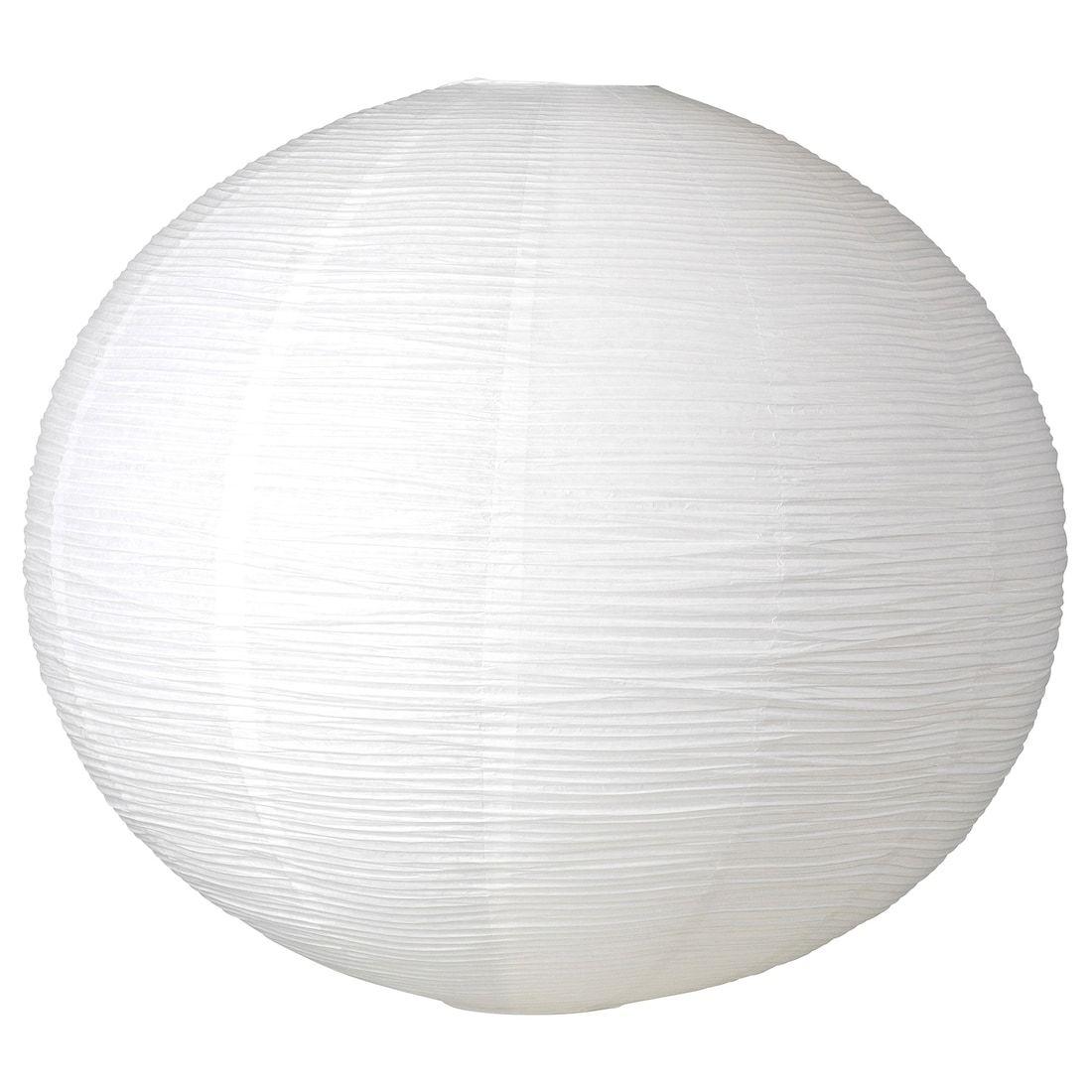 SJUTTIOFEM Pendant lamp shade white, round 28