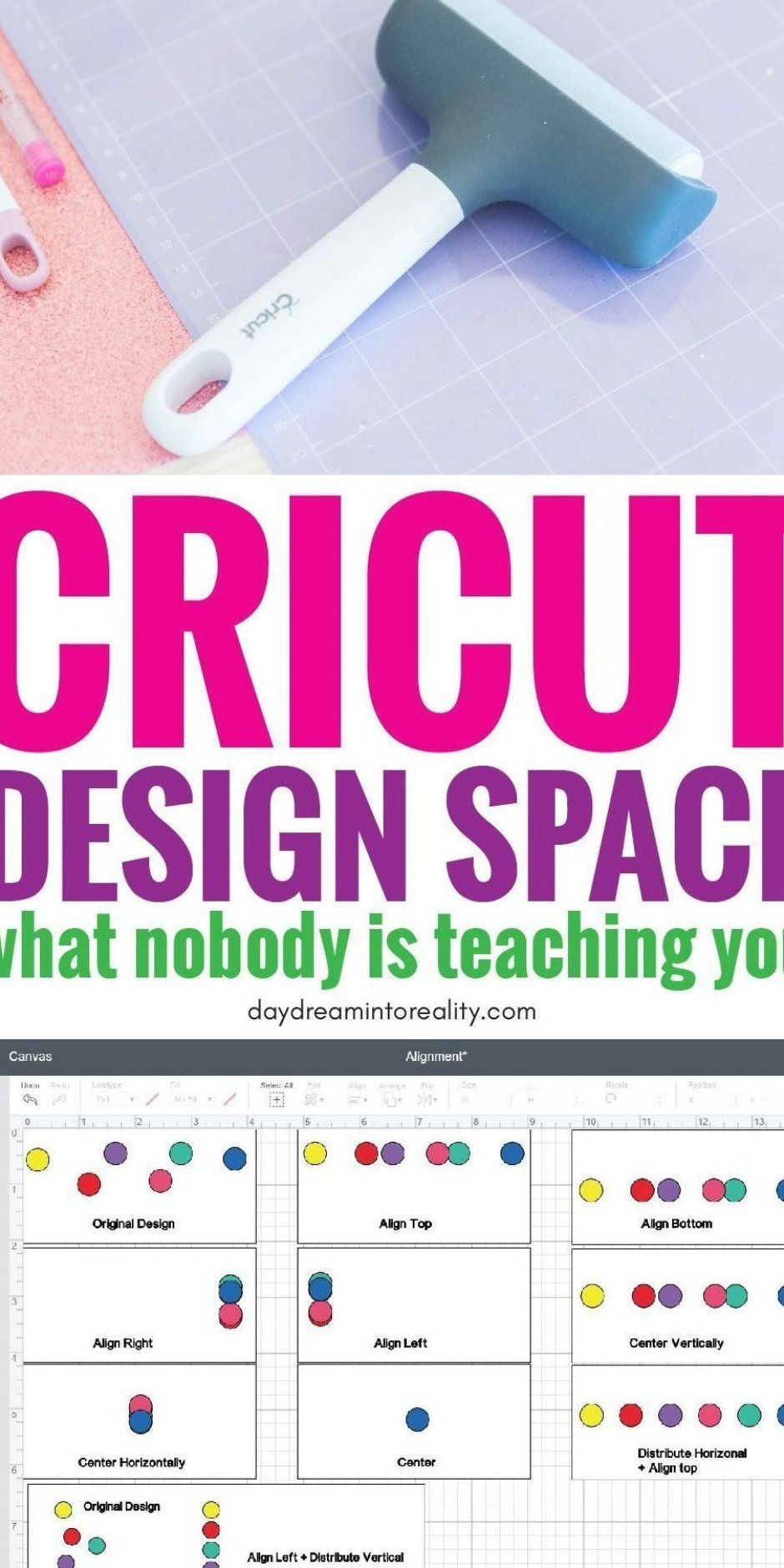 This is the best and most complete tutorial for Cricut Design Space! #cricut #cricutmaker #cricutmade #cricuttutorials #cricutdesignspace #cricutexplore