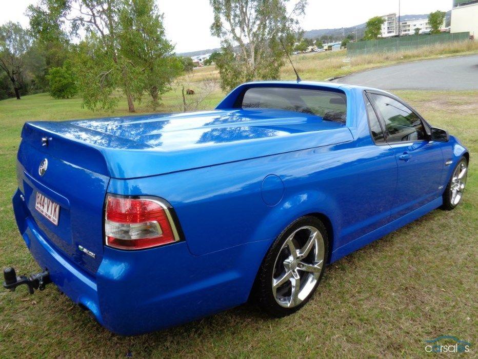 2009 Holden Ute Sv6 Ve Auto My10 Carsales Ve Holden Utes