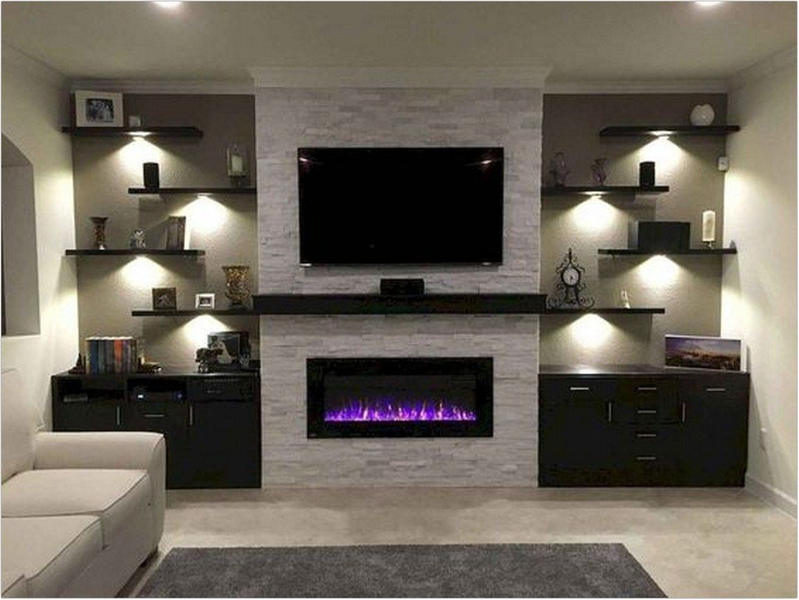 35 Tv Wall Decor Extraordinary At Tv Shows As A Focus 5 Trendy
