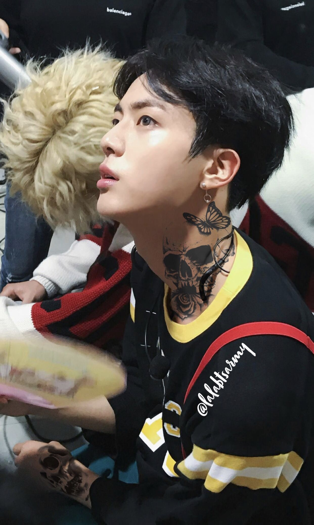 Jin Tattoos Bts Tattoos Punk Edits Worldwide Handsome