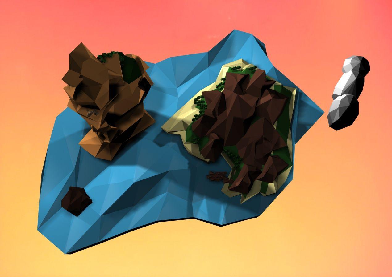 Estudo modelagem 3DMAX. Philipe Marchiolli