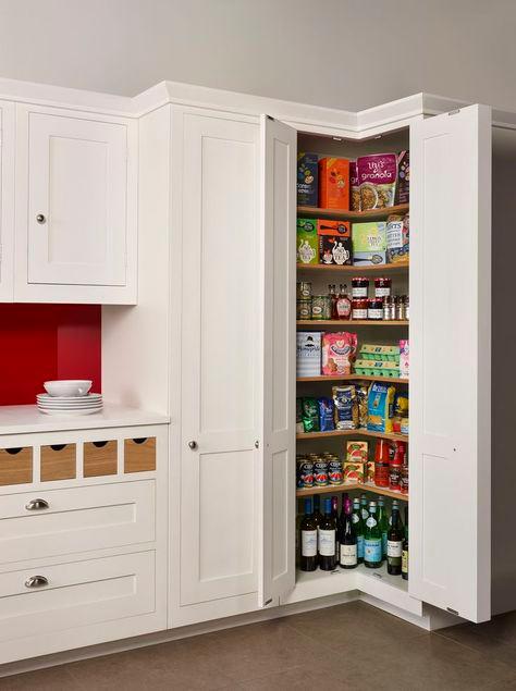 Best Trendy Kitchen Corner Pantry Modern 50 Ideas In 2020 400 x 300