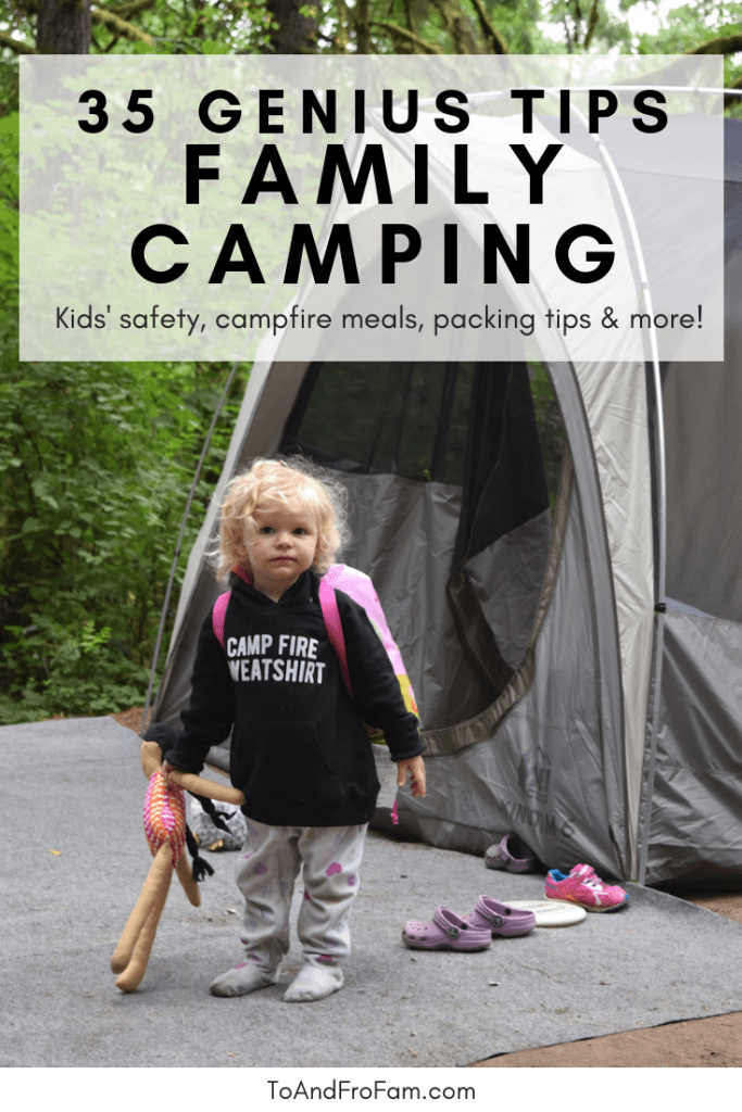 Photo of 35 fun family camping hacks, activities + games to save your sanity