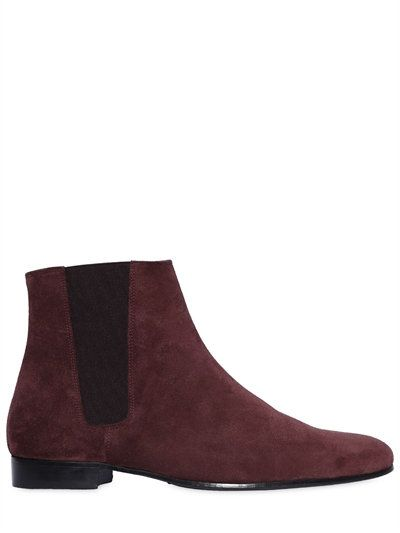 The Kooples Burgundy Leather Ankle Boots l8f2Un