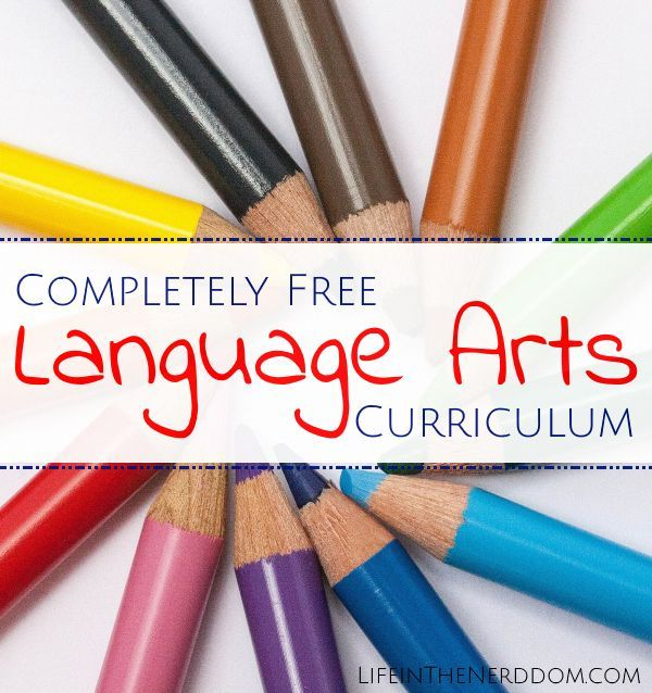 Free Language Arts Curriculum  Completely free FUL