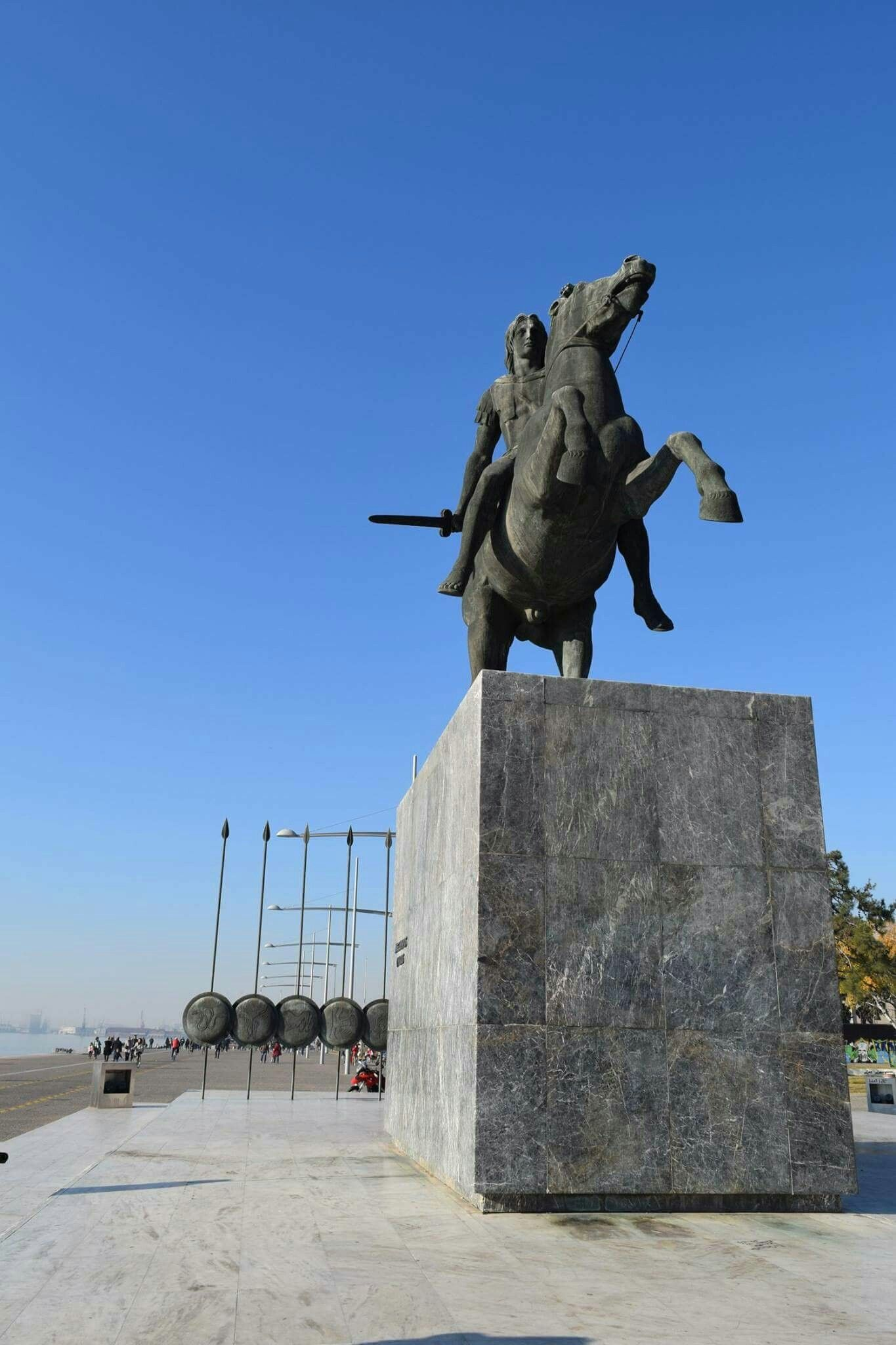 ALEXANDER THE GREAT IN THESSALONIKI Pinterest