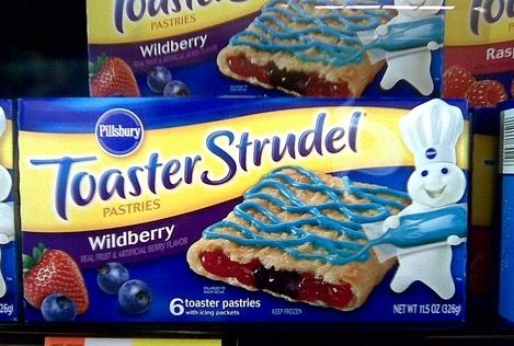 Toaster strudel commercial sexual