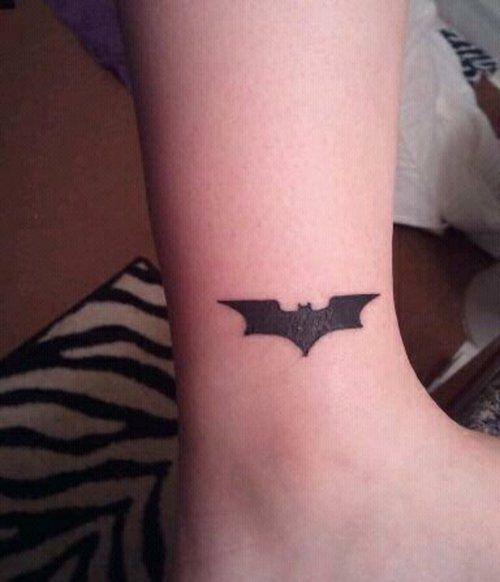 Batman Logo Tattoo, Batman