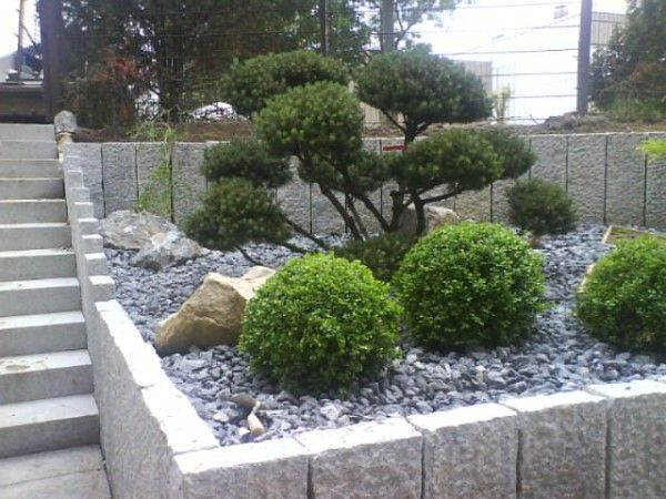 stein garten design – usblife, Gartenarbeit ideen