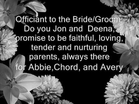 blended family wedding vows best photos | Country Weddings ...
