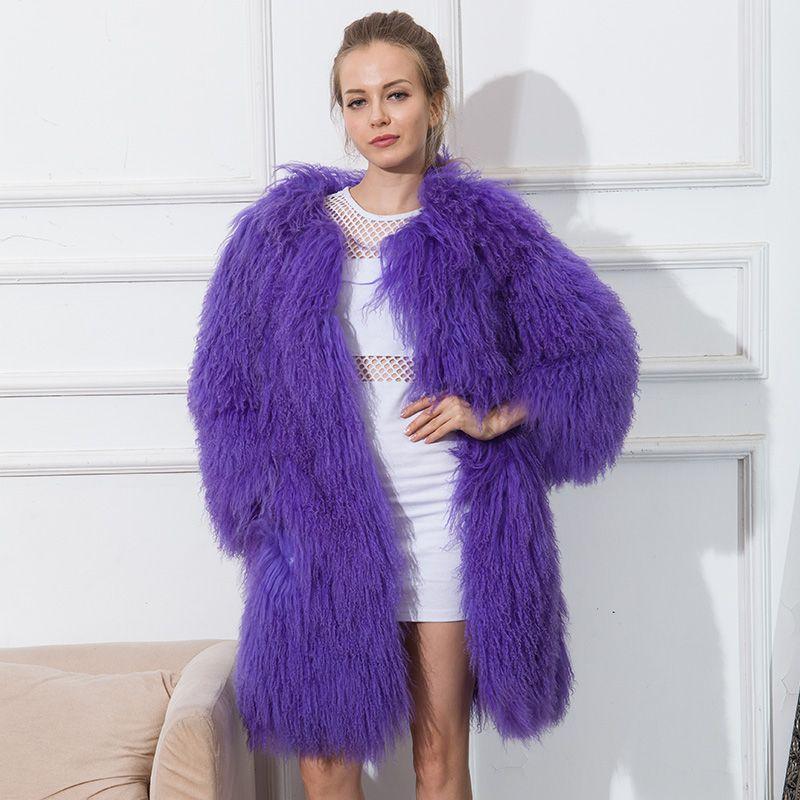 Lamb Coat Fur Cnegovik Sheep Short Coats Skin Tan Womens UaTqtqxn