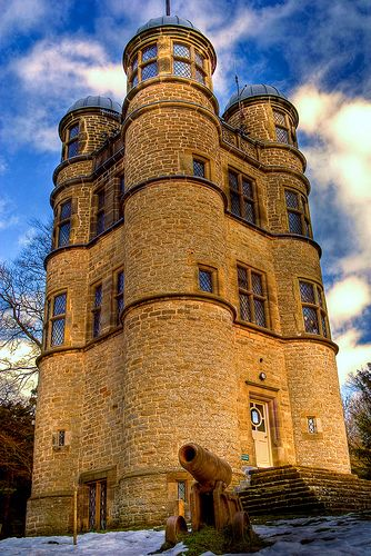 Chatsworth House History: Tower, Derbyshire, Chatsworth House
