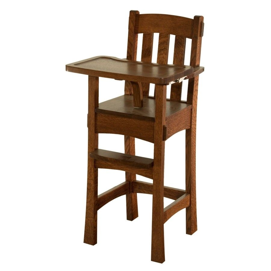 amish mission style high chair - yahoo search results | bird