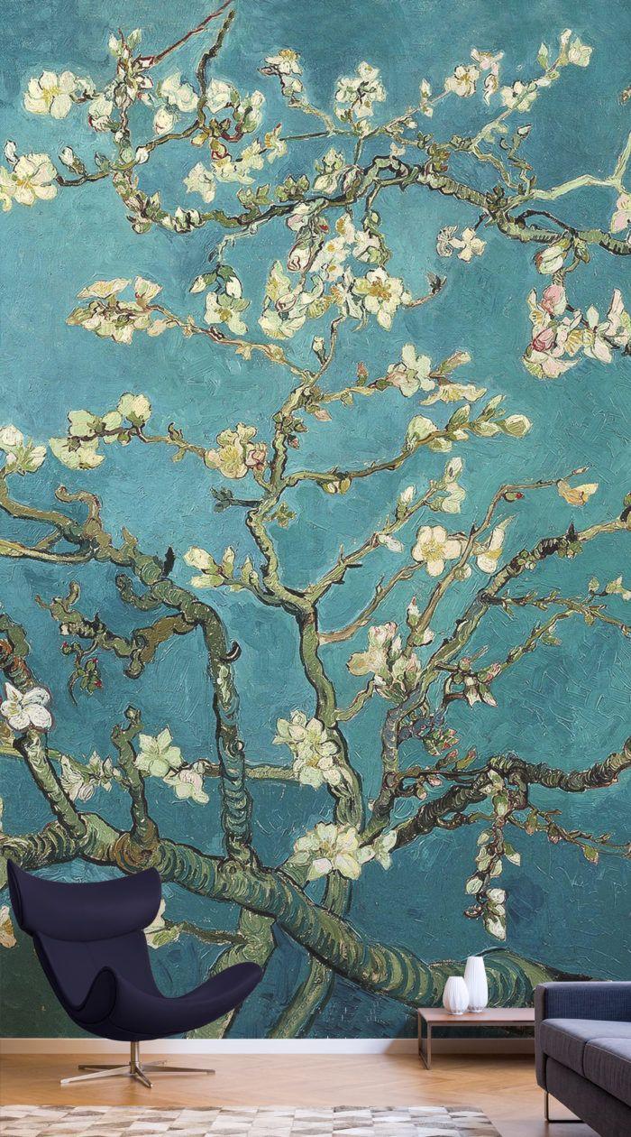 Van Gogh Wallpaper Almond Blossoms Design