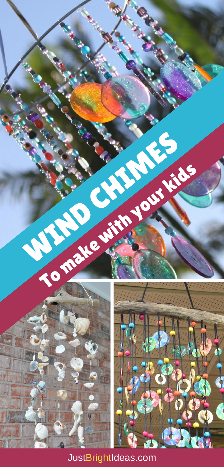 10 Whimsical Wind Chime Crafts for Kids of All Ages -   16 christian nature crafts