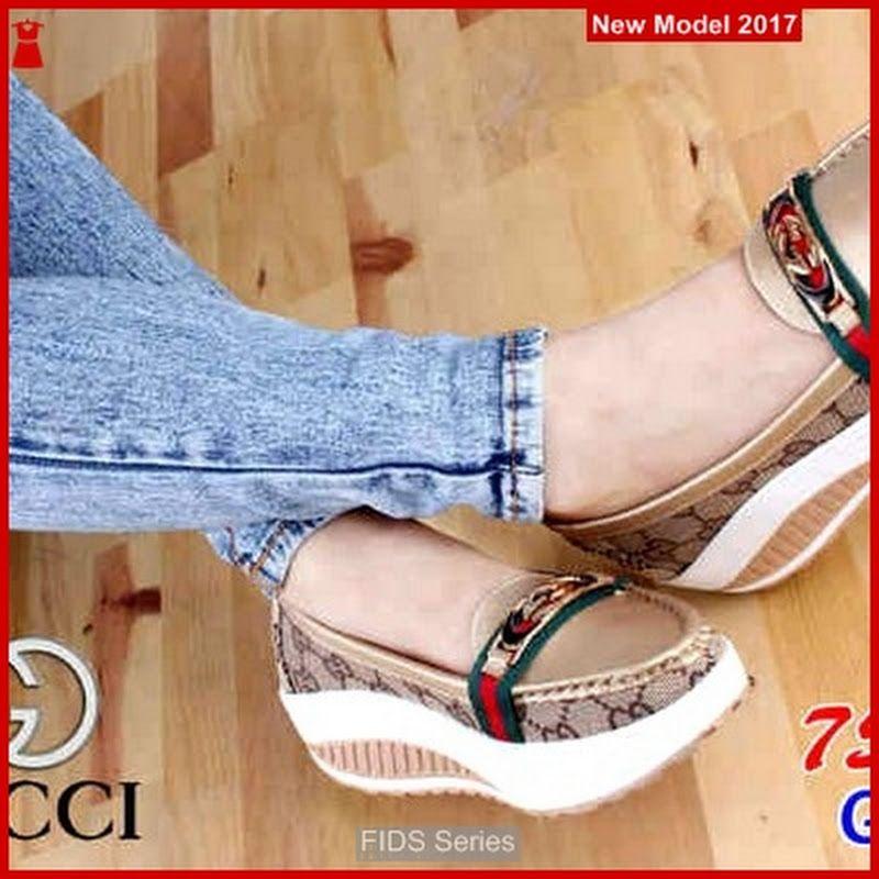 Fids014 Sepatu Wanita Gucci Nr26 Hak Tinggi Bmg Sepatu Wanita