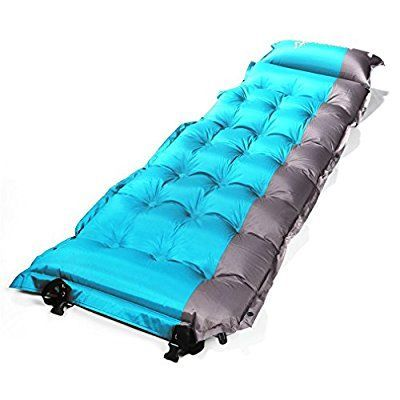 SELF INFLATING C&ing Sleeping Pad Mat Mattress Bed OUTAD Extra Thick Lightweight With Pillow For C&ing  sc 1 st  Pinterest & SELF INFLATING Camping Sleeping Pad Mat Mattress Bed OUTAD Extra ...