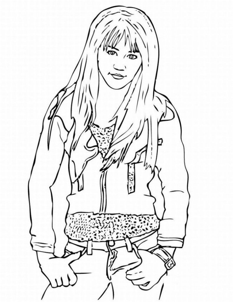 Free Printable Hannah Montana Coloring Pages For Kids Hannah Montana Coloring Pages For Kids Hannah Montana 3