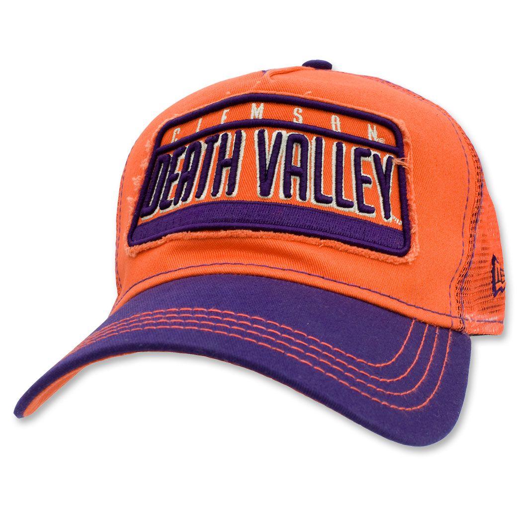 Clemson tigers new era 9forty trucker adjustable hat