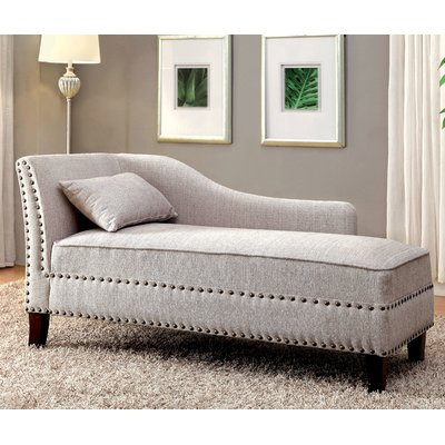 Amazing Darby Home Co Segars Chaise Lounge Upholstery Beige Forskolin Free Trial Chair Design Images Forskolin Free Trialorg