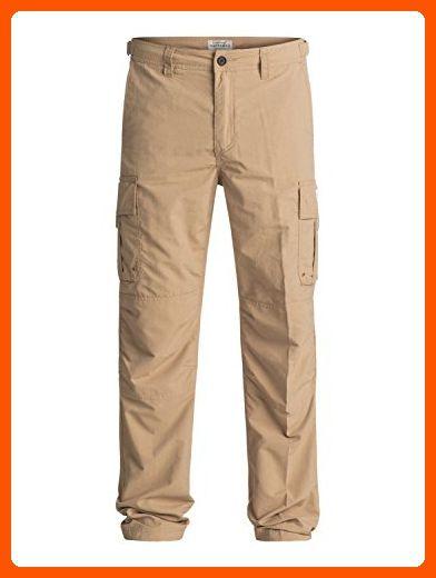 1a366233c3 Quiksilver Waterman Men's Skipper Technical Cargo Pant, Khaki, 32 - Mens  world (*Amazon Partner-Link)