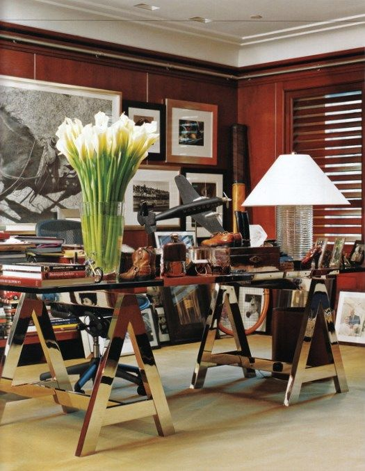 Color Outside The Lines Ralph Lauren In Architectural Digest Decor Interior Home