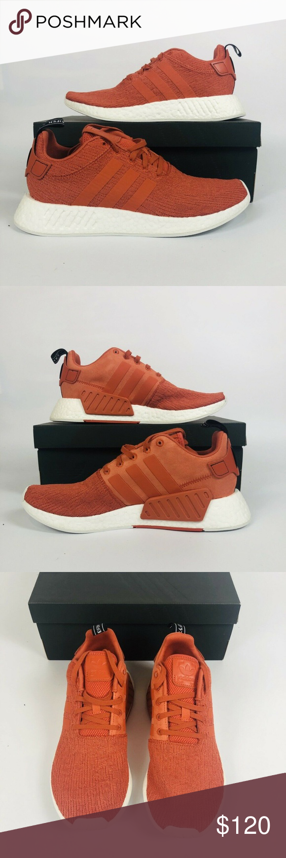 b900727358274 Adidas Originals NMD R2 Adidas Originals NMD R2 - Future Harvest Burnt  Orange Sneaker  BY9915  Mens New With Box Shipped Double Boxed Nike Shoes  Sneakers