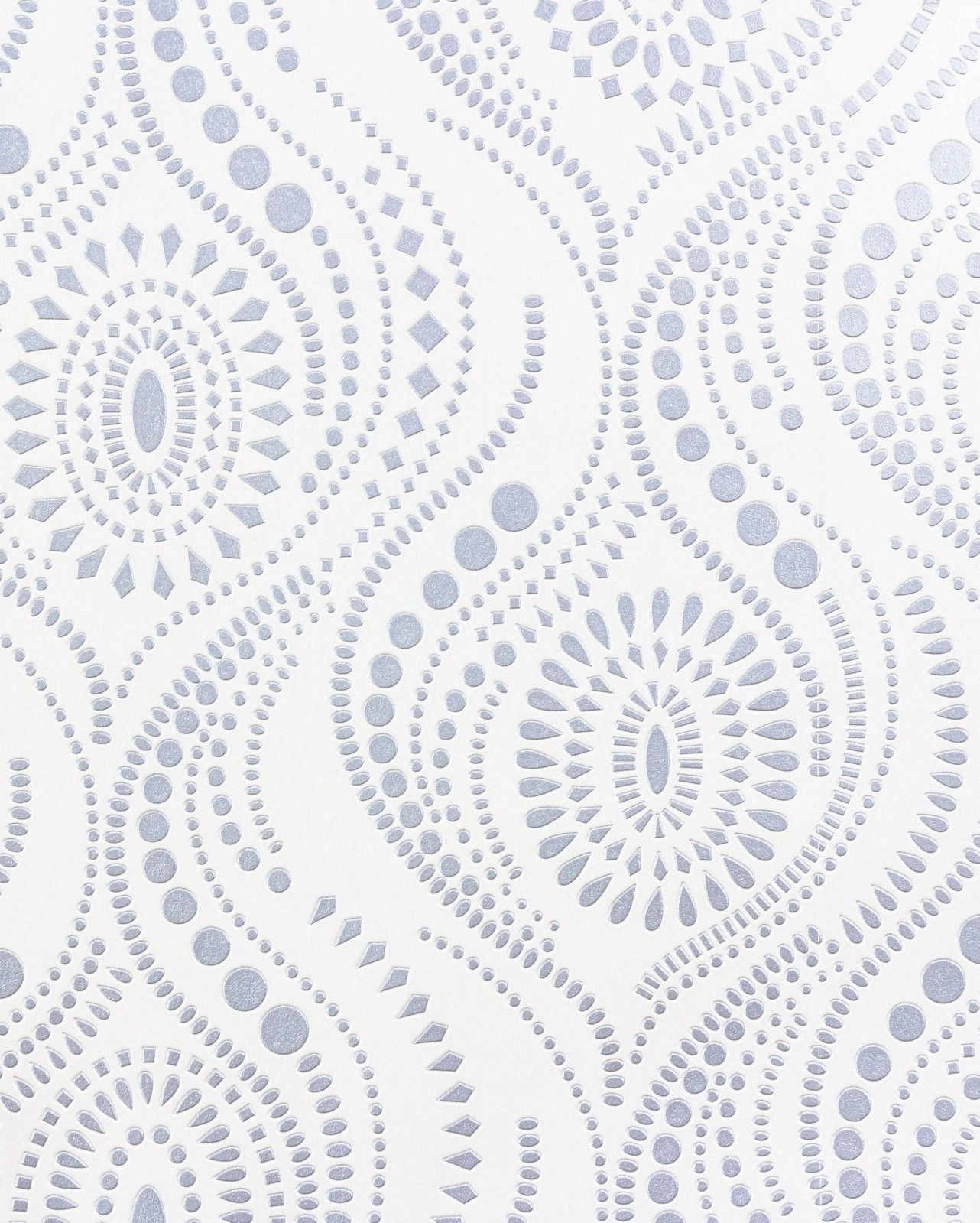 wallpaper Rasch vinyl wallpaper Aqua Relief pattern white