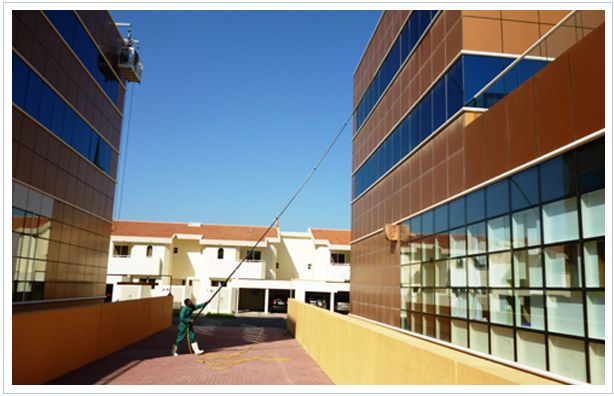 Office windows can get grimy, but you can trust Agha to ensure that your commercial building's windows sparkle as much as your staff. Using our renowned tucker pole window washing system, our expert team specialise in cleaning the windows of banks, clinics, shops, showrooms and small commercial buildings upto 5 floors high.