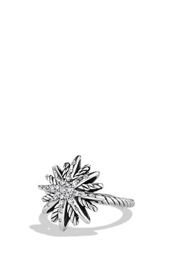 David Yurman 'Starburst' Ring with Diamonds available at #Nordstrom