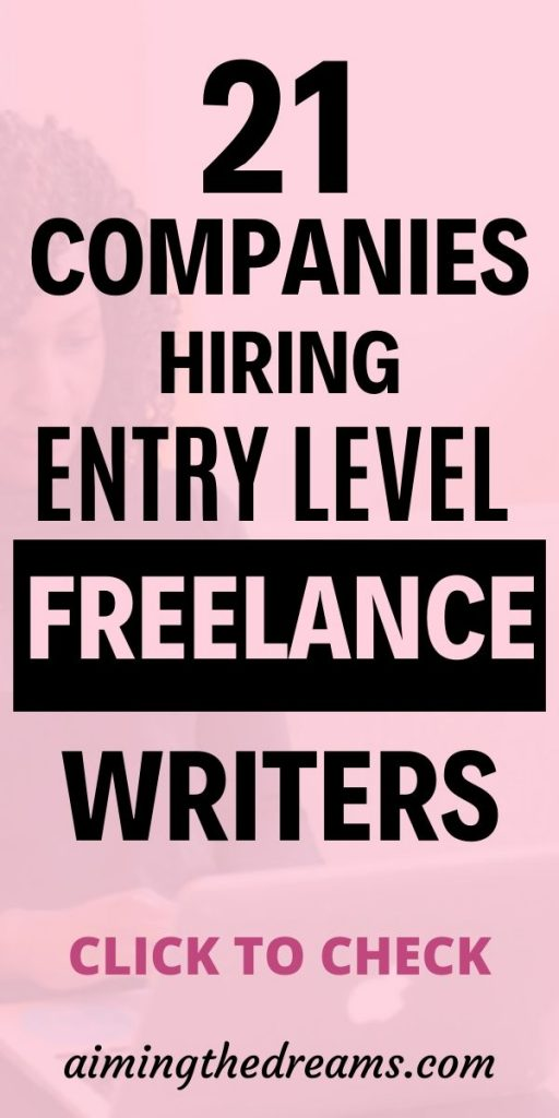How To Find Entry Level Freelance Writing Jobs As A Beginner It Is Difficult To Find Freelancing Job Online Writing Jobs Writing Jobs Freelance Writing Jobs