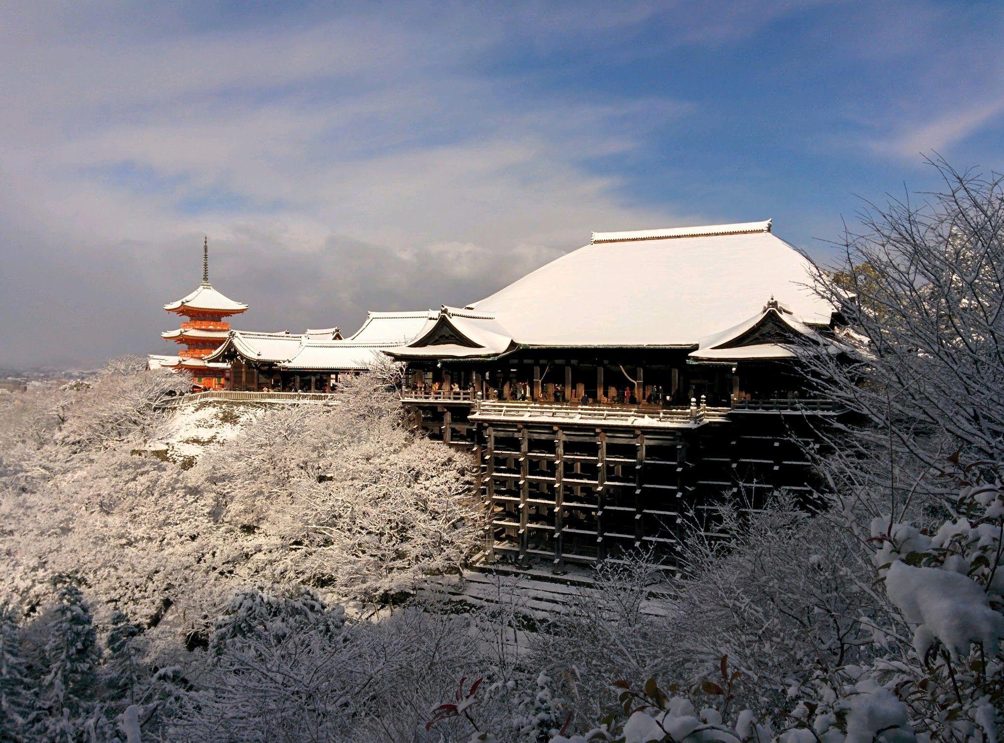 Kiyomizu temple in Kyoto Jan. 15, 2017.