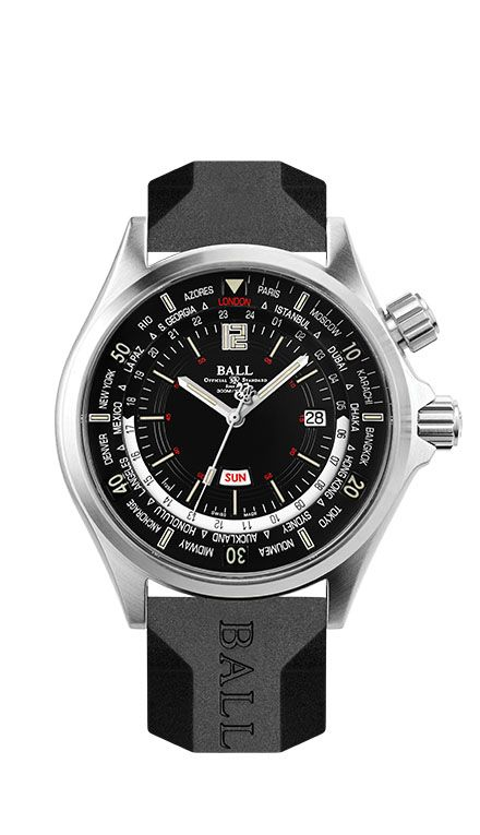 Welcome to BALL Watch - Diver Worldtime