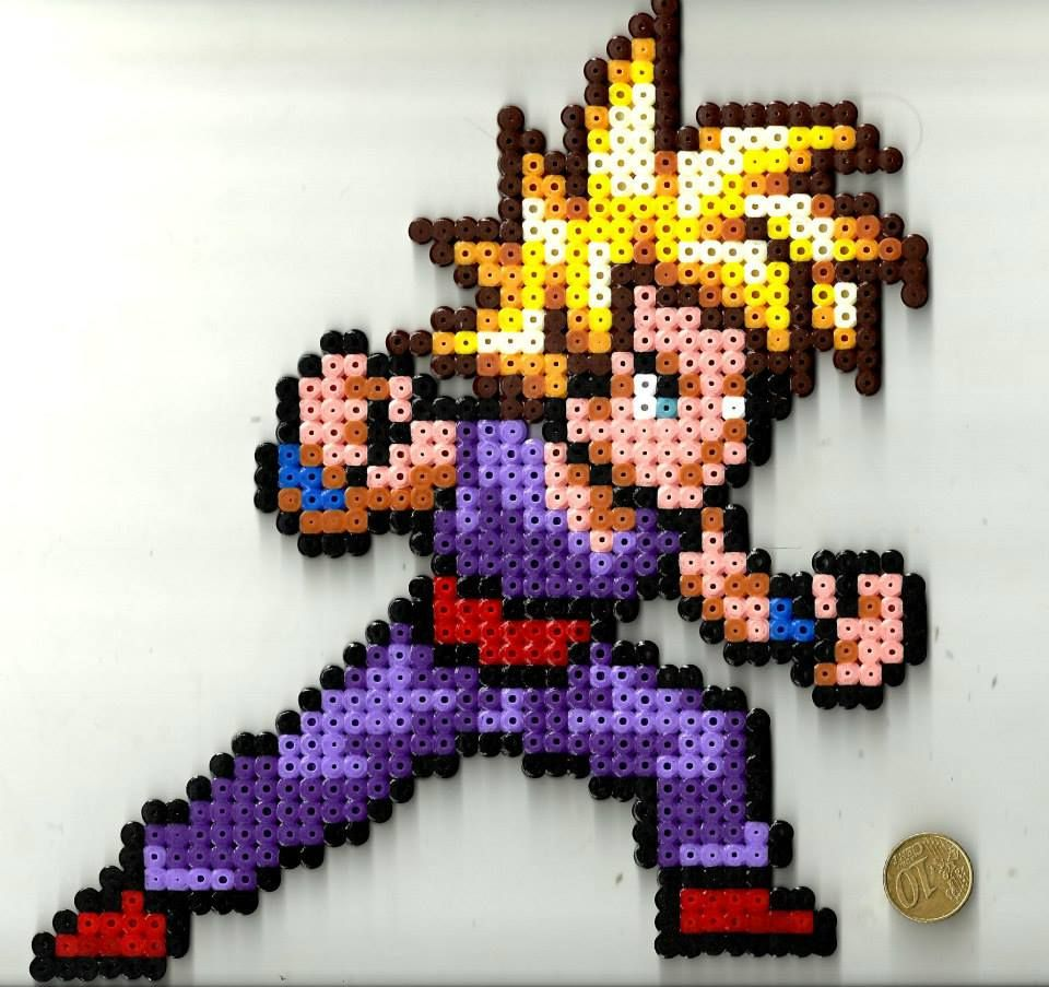 Gohan Perler Beads By Pixelsior Hama Beads Patterns Hama
