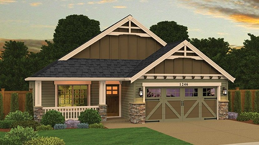 Home plan homepw77330 1269 square foot 3 bedroom 2 for Home plan com