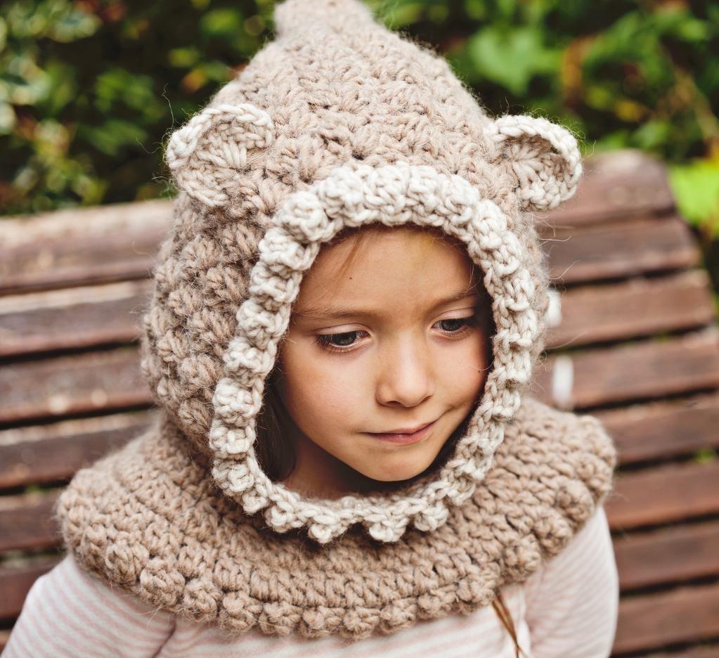 Kitten Hooded Cowl | Locos y Ropa