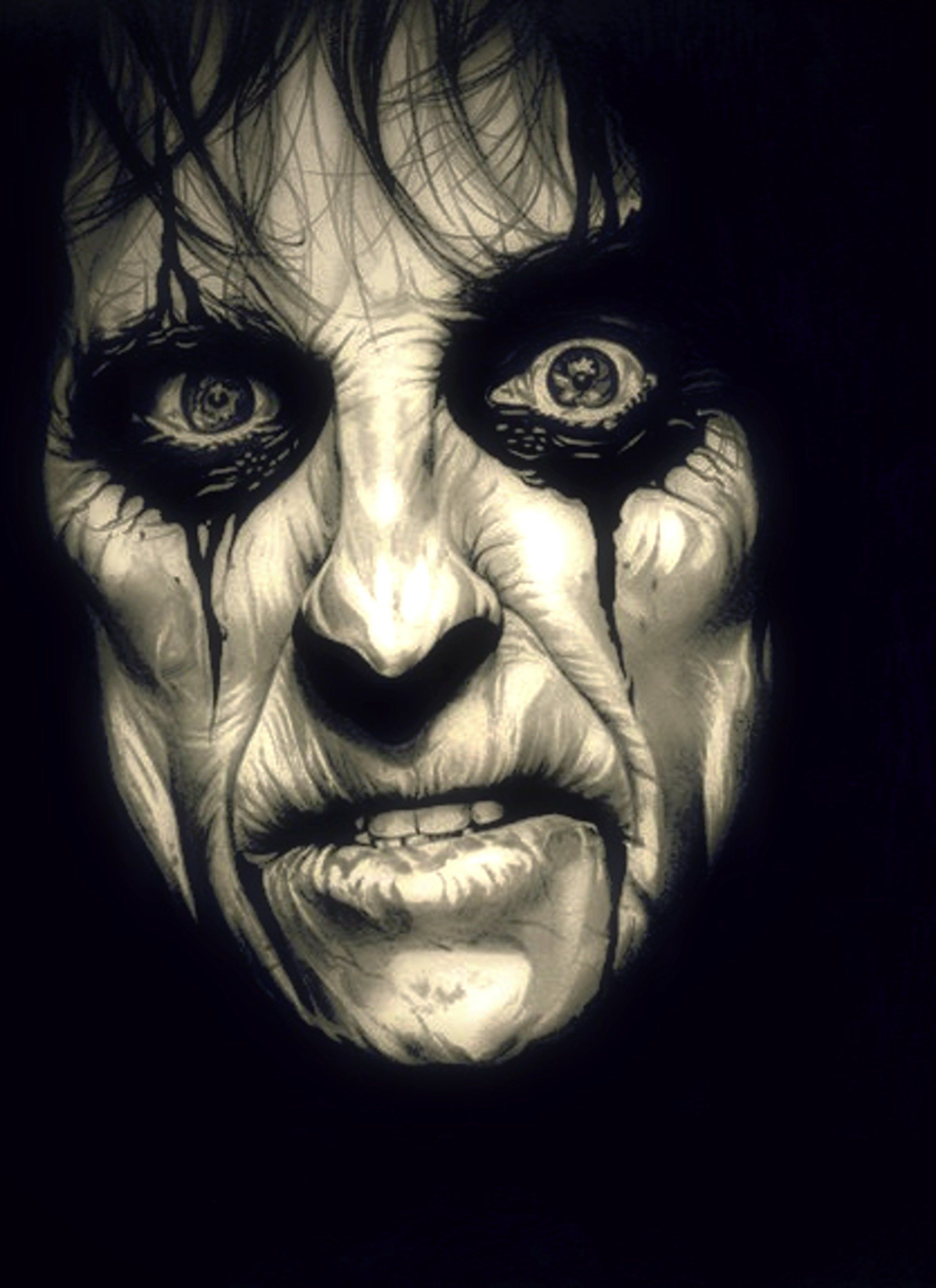 2013 Poison Alice Cooper Signed Print Limited Edition