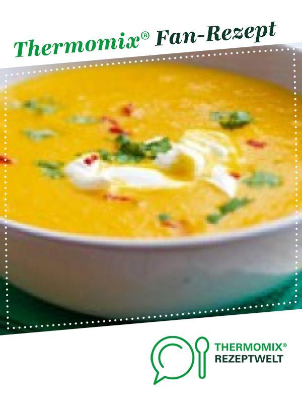 karottensuppe mit ingwer thermomix