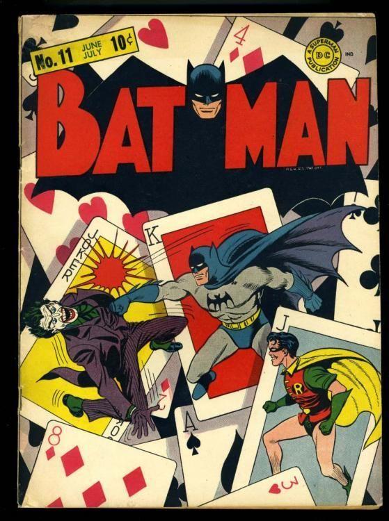 BATMAN 11 1942 CLASSIC COVER
