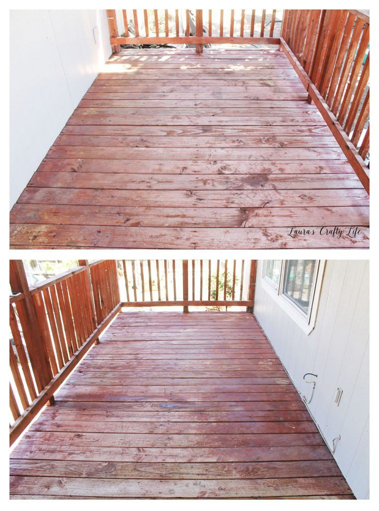 How to Stain a Deck Preparation Staining deck, Deck