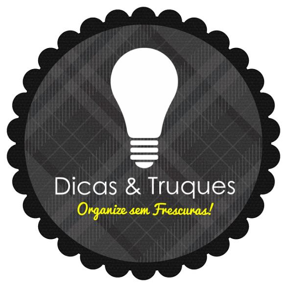 Organize sem Frescuras | Rafaela Oliveira » Arquivos » 35 dicas e truques para facilitar o dia- a- dia