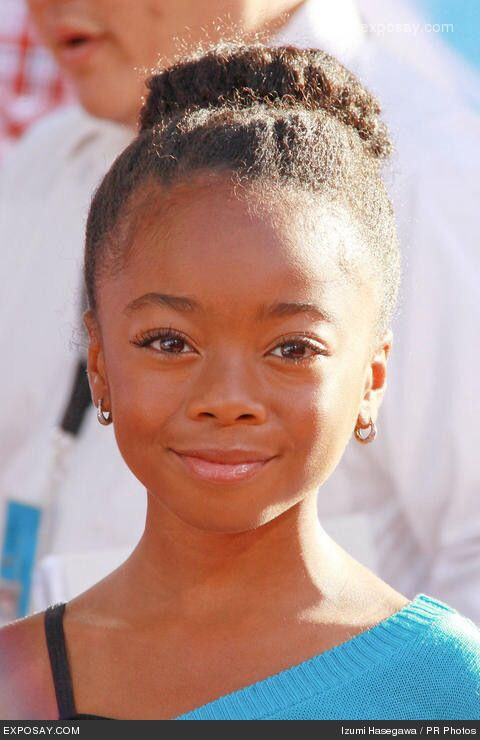Pin By Natalyah Lindo On Things To Wear Skai Jackson Natural Hair Styles Zuri From Jessie
