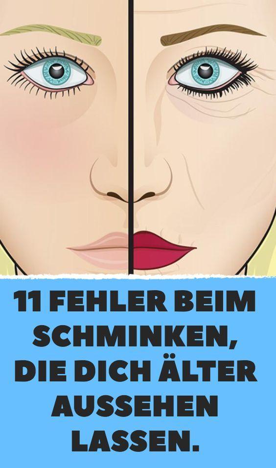 11 Fehler Beim Schminken Die Dich Alter Aussehen Lassen Alter Aussehen Naturlich Schminken Make Up Tipps