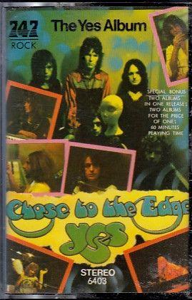 Yes - The Yes Album / Close To The Edge (Cassette, Album) [Saudi Arabia!]