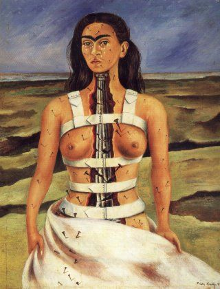 The Broken Column by Frida Kahlo